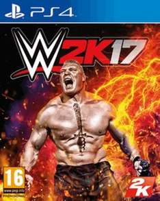 WWE 2K17 on PS4/XB1 (daily deal) £34.99 GAME (Amazon have price matched)