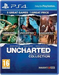 Uncharted: The Nathan Drake Collection (PS4) £14.99 Delivered @ GAME (Pre Owned)
