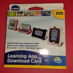 £20 vtech download card for £10.32 ebay /  4beautifulfamily4
