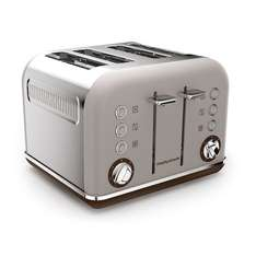 Morphy Richards 242102 Accents Special Edition 4 Slice Toaster - Pebble - £28.49 @ Tesco Direct