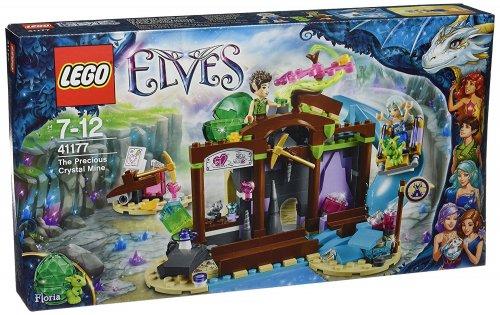LEGO 41177 Elves The Precious Crystal Mine Building Set - £12.49 (Prime) £16.48 (Non Prime) - Amazon