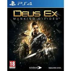 [PS4] Deus Ex: Mankind Divided Day One Edition - £19.95 / PS4/X1 Call of Duty: Infinite Warfare - £34.95 - TheGameCollection