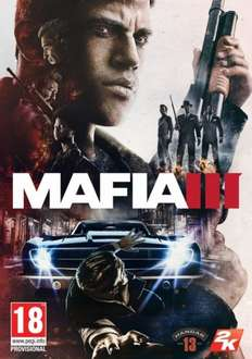 Mafia 3 on PC -Digital Download only £17.99 (+ 25% quidco today! potential price of £13.52!!!) @ CDKeys