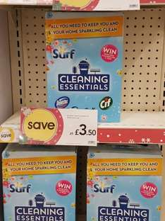 cleaning essentials Wilkinson £3.50 from £5