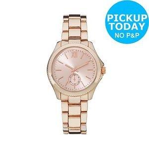 Rose Gold Watch - £7.49 @ Argos via eBay