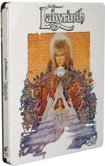 Labyrinth (4K/UHD Steel Book + HD UltraViolet Copy) for £15.30 Delivered (w/Code) at Zoom