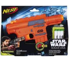 Rogue One Nerf Captain Cassian Andor Blaster Half price at Argos for £10.99