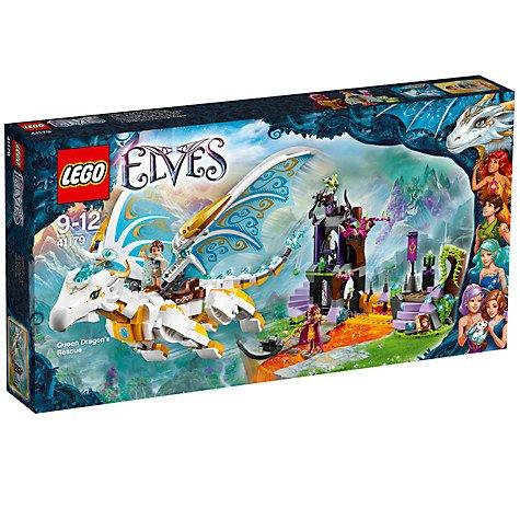 LEGO Elves 41179 Queen Dragon's Rescue £39.97 @ John Lewis