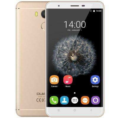 Oukitel U15 Pro 4G Phablet-TYRANT GOLD197223002Android 6.0 5.5 inch 2.5D Arc Screen MTK6753 Octa Core 1.3GHz 3GB RAM 32GB ROM 16.0MP Rear Camera Fingerprint Scanner Bluetooth 4.0 £86.38 @ Gearbest