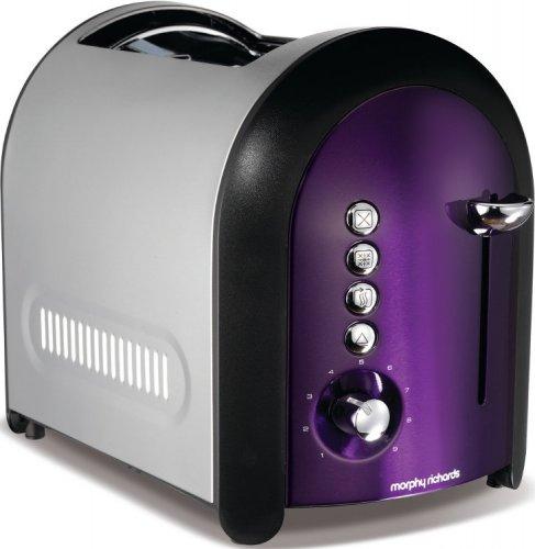 Morphy Richards Meno toaster in plum £11.99 @ Halfcost
