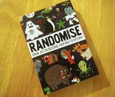 Randomise game: Draw, act or describe your way to victory - free from Amazon.