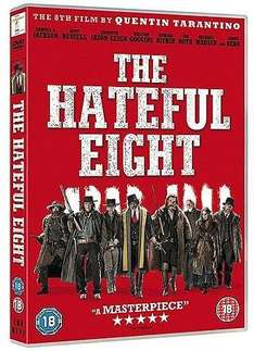 The Hateful Eight DVD (Tesco Direct) £5 - Free C&C (same at Amazon if you have Prime)