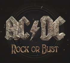 Rock Or Bust AC/DC Audio CD/Includes FREE MP3 version £2.80 Amazon