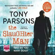 Audible DOTD, The Slaughterman by Tony Parsons audio book £1.99