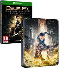 Deus Ex: Mankind Divided Steelbook Edition - Only at GAME (XO/PS4) £24.99 Delivered @ GAME