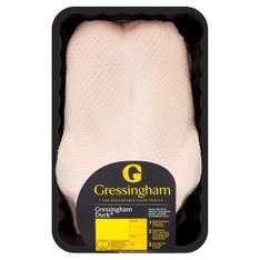 Gressingham Foods Whole Duck (2kg) was £10.00 now £5.00 (Rollback Deal) @ Asda