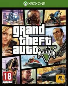 Grand Theft Auto V on Xbox One Preowned for £20.79 with code ACE20 @ Music magpie