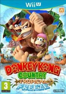 [Original Cover Edt.] Donkey Kong Country: Tropical Freeze (Nintendo Wii U) (Used) - £12.39 @ Music Magpie (Code 'ACE20')