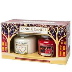 Yankee candle 2 medium jar festive gift set snow in love & cosy by the fire was £39.99 now £19.99 plus £2.95 delivery £22.94 delivered @ Candles Direct