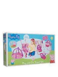 Peppa pig play and go travel set from £25.99 Very - Free c&c