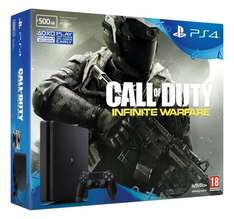 PS4 Slim 500GB with Call of Duty Infinite Warfare £219.99 at Amazon