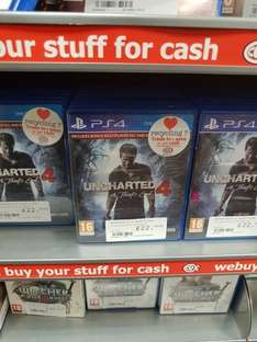 PS4 Uncharted 4 A thief's end £22 @ CEX