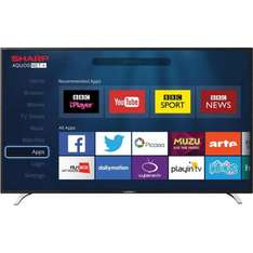 """Sharp LC-32CFE6241K full 1080p 32"""" Smart LED TV with 3 x hdmi / Freeview HD Was £259 now £191.70 delivered with code @ AO"""
