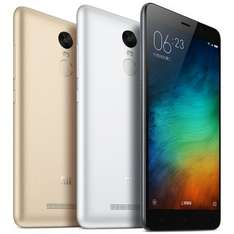 "Xiaomi Redmi Note 3 Pro - 5.5"" FHD Snapdragon 650 4000mah - Band20/Kate/Special Edition/Global Version model - £112.44 for 2/16GB - £128.50 for 3/32GB - Gold or Grey - Geekbuying"