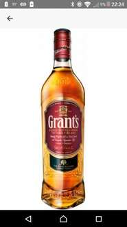 Grants Scotch Whisky 70cl was £15.00 now £10.00 @ Sainsbury's