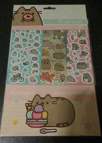 Pusheen sticker set £1 @ Poundstretcher