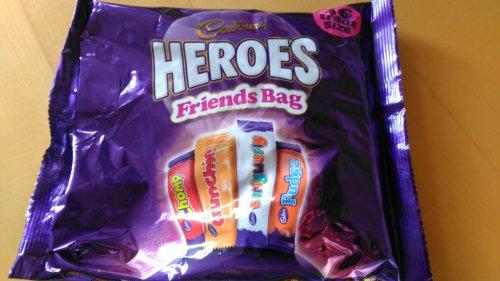 Cadbury Heroes 16pk 225g. £1.00 Iceland