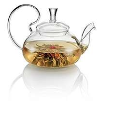 'TeaSoul' Stainless steel and glass 500ml tea pot. 1/2 price with voucher. £8.64 (with prime) £12.63 non prime @ Amazon