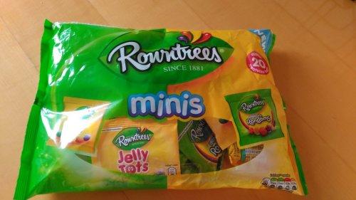 Rowntrees minis 20pk £1.00 Iceland