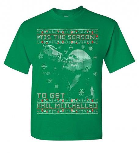 ''Tis The Season To Get Phil Mitchelled'' X-mas T-shirt £12.98 delivered @ Ebay (Soccerprint)