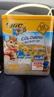 Bic alvin colouring set reduced from £5 to £1.50 instore at sainsbury's Lancaster