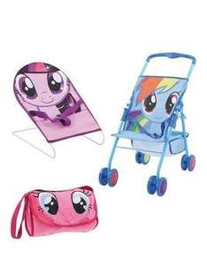 My Little Pony 3 Piece Dolls Friendship Set Now only £13.99 free c&c at Very