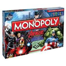 Avengers Monopoly £9.96 @ Toys R Us (free click&collect)