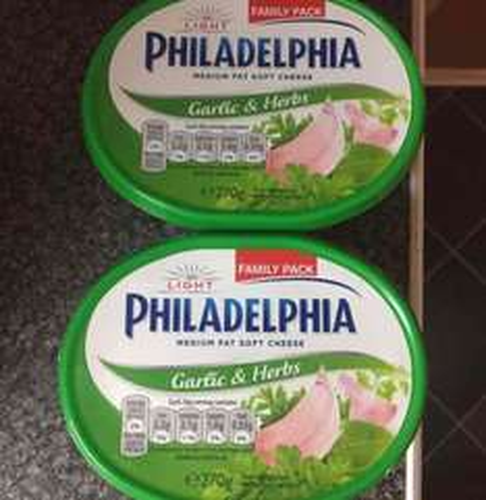 Philadelphia family pack 2 for £2 Morrisons