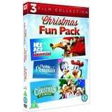Ice Age:A Mammoth Christmas/The Pebble and the Penguin/An All Dogs Christmas Carol (3 DVD set)-£1 at Poundland