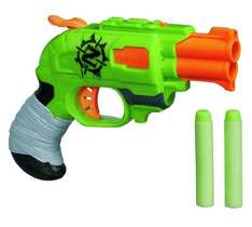 Nerf Zombie Strike Doublestrike Blaster £7.99 ARGOS (FREE C+C)