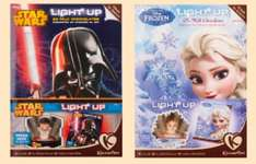 star wars frozen and trolls light up advent calendar £1.50 @ Tesco