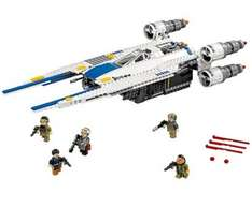 Lego StarWars Rebel U-Wing Fighter Jet £46.97 was £51 @ Asda (Big Toy Rollback Sale)