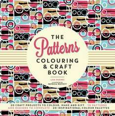 patterns colouring and craft book was £9.99 now only £2 free c&c at works
