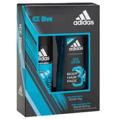 adidas ice dive duo body spray & shower gel gift set was £6 now £2.45 at superdrug