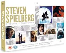 Steven Spielberg Blu-Ray Collection £20 @ Amazon