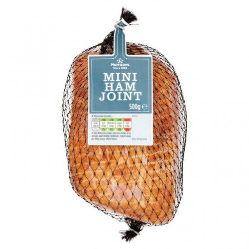 Morrisons Mini Ham Joint 500g £2.92 (Normally £4.00)