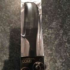 Denman Professional Comb - Black. £0.10 - INSTORE ONLY SUPERDRUG NEWTON MEARNS