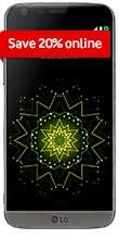 LG G5 with 500 minutes, 500 MB of data and unlimited texts. one off payment for the phone £20 contract cost £19.20pm @ Vodafone
