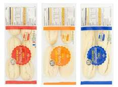 Bake At Home Crusty White Rolls x4, Petit Pains x6, White Baguettes x2 only 50p at Morrisons