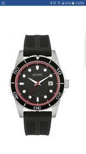Mens Bulova Watch, Half Price - £79.99 H Samuels.